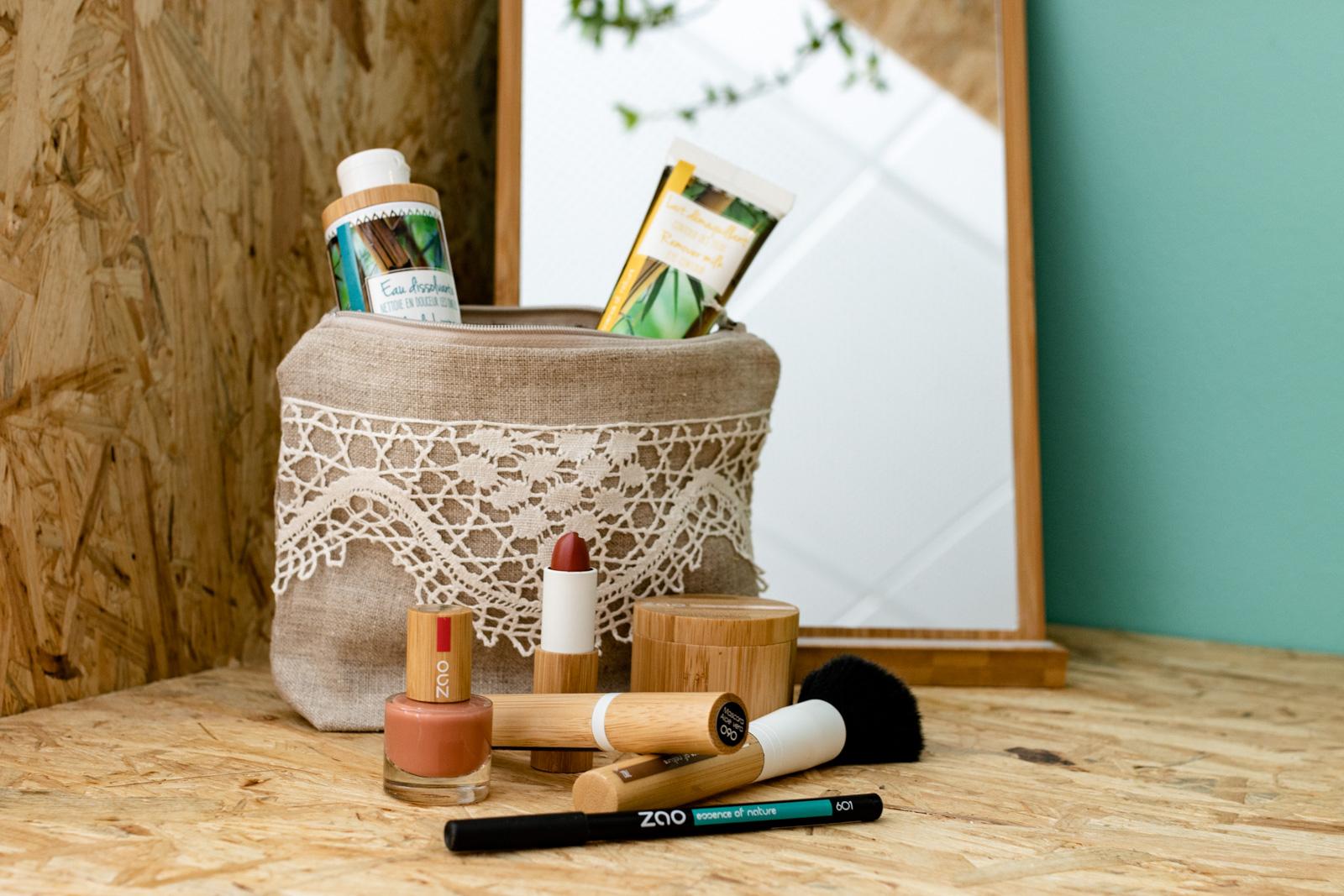 Maquillage bio et 0 déchet à Sommières, dans le Gard