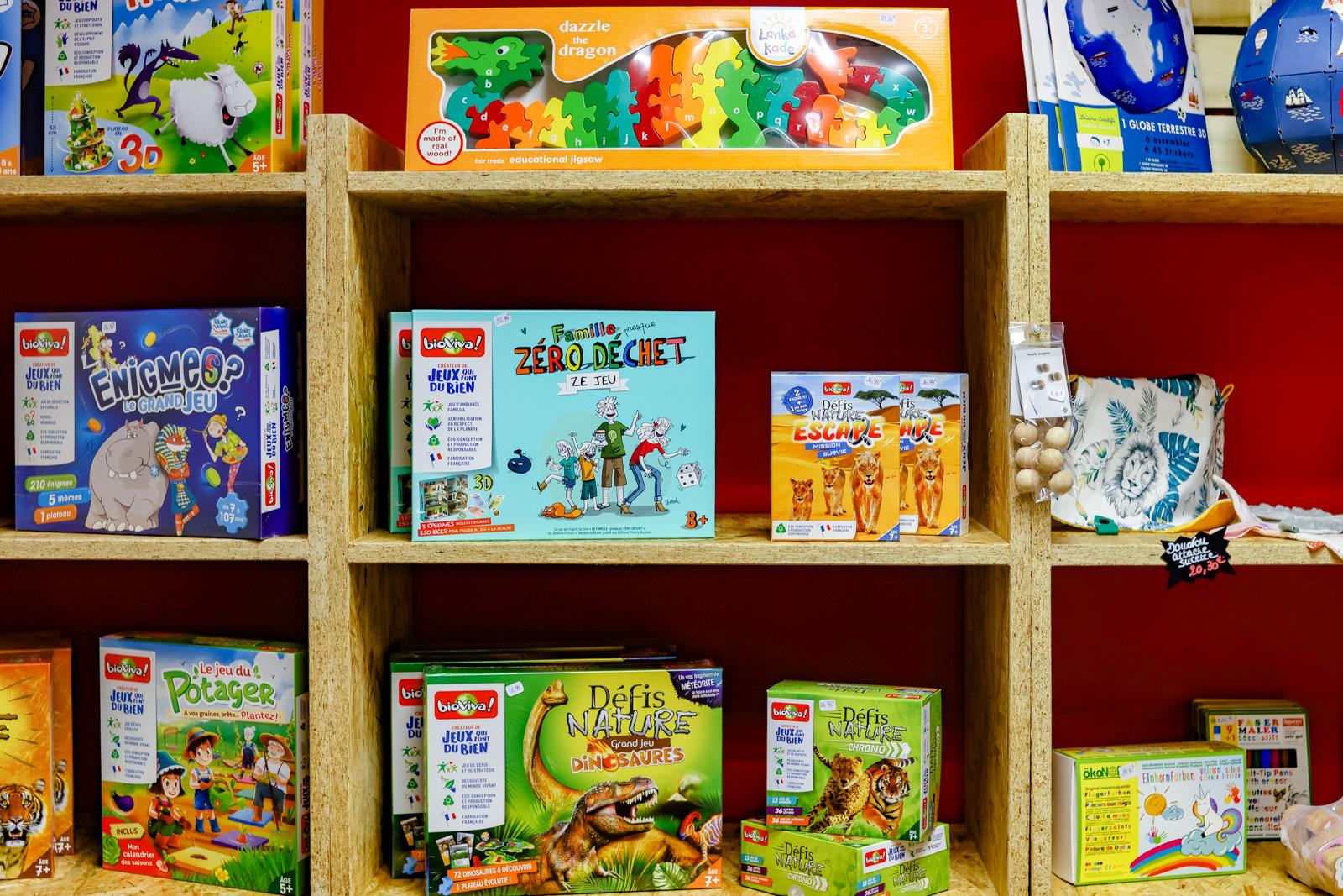 Jeux et jouets zéro déchet