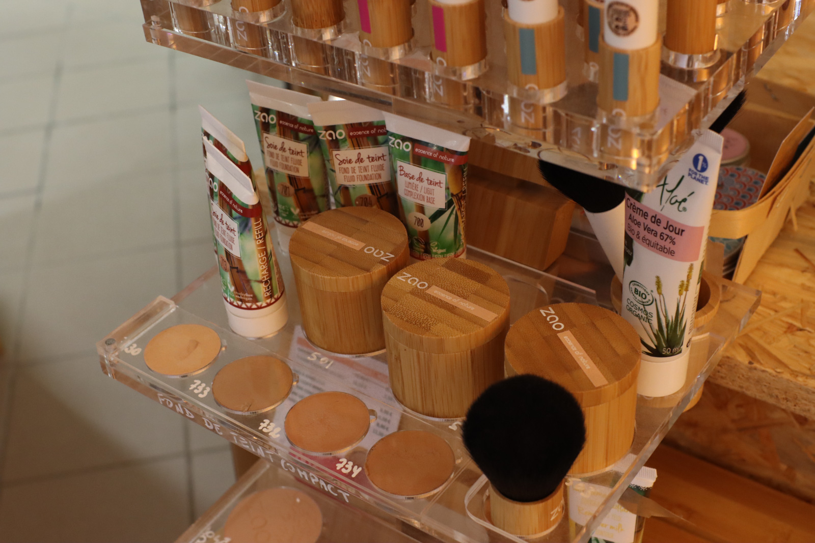 Maquillage 0 déchet dans le Gard